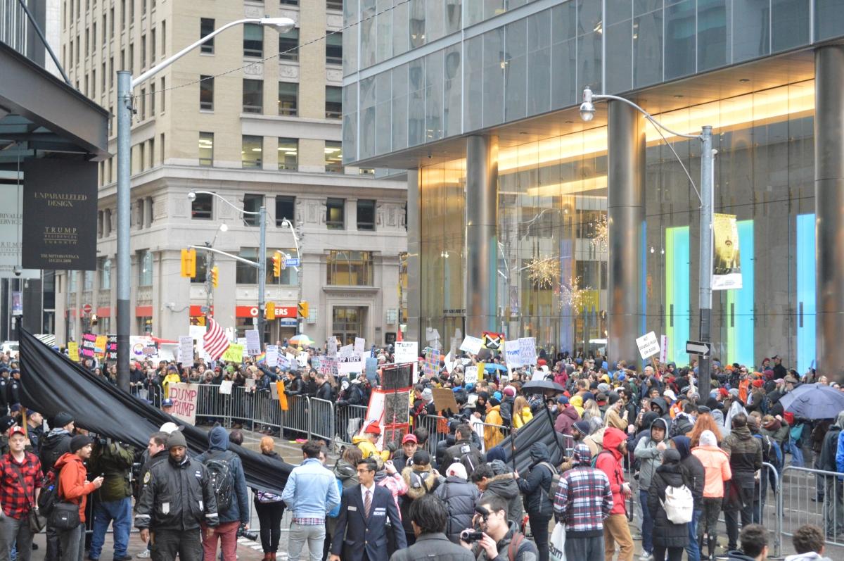Love Trumps Hate: Toronto's Rally AgainstTrump